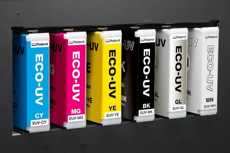 ECO-UV S boje pružaju nove mogućnosti za UV-štampom na zahtev