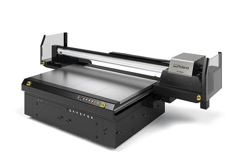 Roland UV LED Flatbed printer IU-1000F